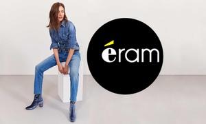 Eram: Chaussures, maroquineries...40% de réduction sur la collection en ligne Eram pour seulement 5 euros
