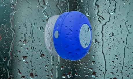 Enceinte Bluetooth pour la douche avec fonction mains libres