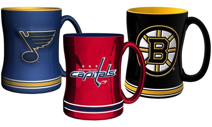 NHL Sculpted Relief Mug
