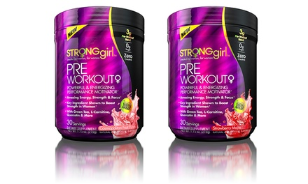Strong Girl Pre-Workout Performance Motivator Dietary Supplement (30 Servings)