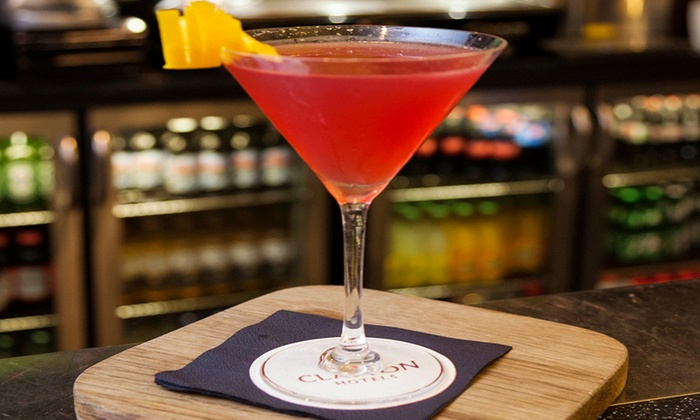 Clayton Hotel Cardiff Lane - Dublin 2: Four Cocktails of Your Choice to Enjoy at Vertigo Bar in 4* Clayton Hotel Cardiff Lane (Up to 43% Off)