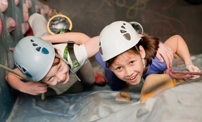 Kids' Introductory Climbing Session for One or Two at Extreme Ventures (Up to 61% Off)