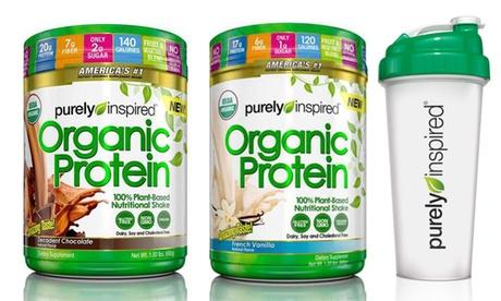 Purely Inspired Organic 100% Plant-Based Protein & Typhoon Shaker Cup 085ed56b-b7fa-48a0-ad11-08b2db2c15f8