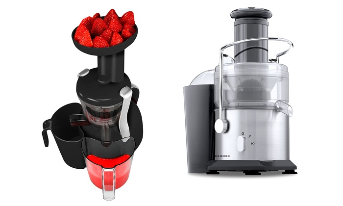 Big Boss Slow Juicer Review : Big Boss Healthy Juicers Groupon Goods