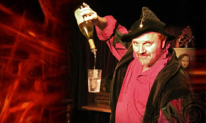 Merlin's Magic & Comedy Dinner Theatre - Orange: Merlin's Magic & Comedy Dinner Theatre for Two or Four at Rib Trader (Up to Half Off)