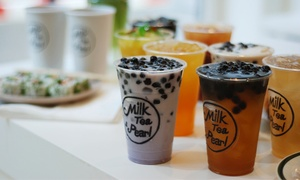 Milk Tea & Pearl: Bubble Tea for Two or Four at Milk Tea & Pearl (Up to 50% Off)