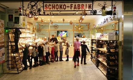 Schokoladen-Workshop für 1-4 Pers. oder Kindergeburtstag für bis zu 20 Pers. in der Schoko Fabrik (bis zu 54% sparen*)