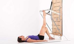 Unnata Pilates: 4 u 8 clases de pilates en columpio, en máquina o yoga aéreo desde 39,9 € en Unnata Pilates