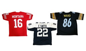 NFL Autographed Retired Player Jerseys