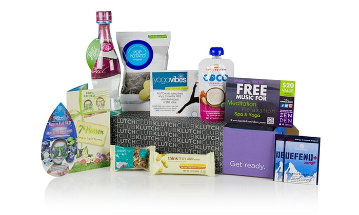 KLUTCHclub Best of Box: Best of Box with Health and Wellness Goods from KLUTCHclub. Free Shipping.