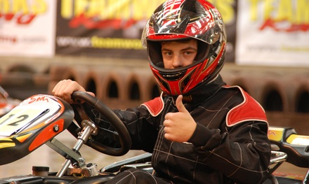 30 Minutes of Go-Kart Racing for Up to Four at Teamworks Karting (Up to 58% Off)