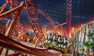 TripX Tours: IMG Worlds of Adventure Theme Park and Half-Day Dubai City Tour with TripX Tours