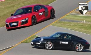 Motion Drive: Renntaxi oder Runden mit z. B. Porsche, Lamborghini o. Ferrari auf dem Spreewaldring von Motion Drive (bis 53% sparen*)