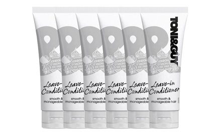 $19 for a Six-Pack of Toni and Guy Prep Leave-In Conditioner 100ml (Don't Pay $75)