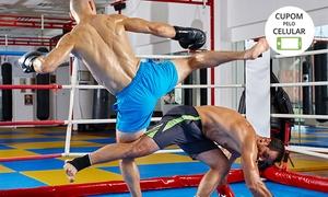Sparta Academia: 1, 3 ou 6 mês de musculação (opção com muay thai) na Sparta Academia – Aparecida de Goiânia