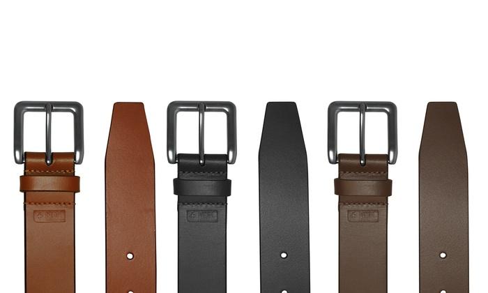 Cosmopolitan Simple Leather Belt