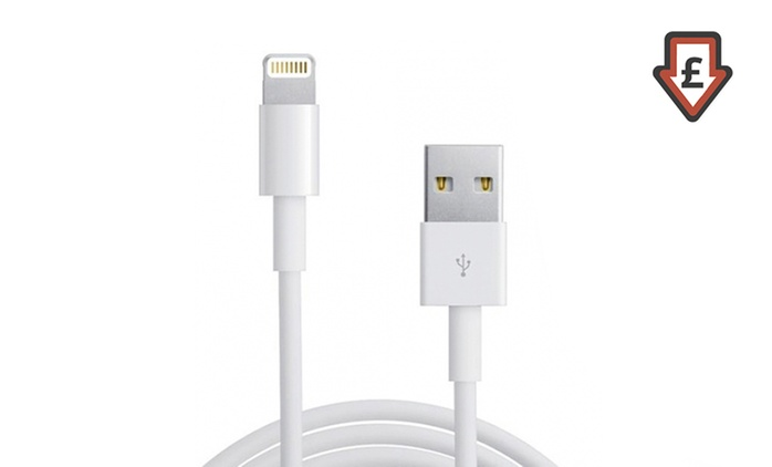 Charger Cables for iPhone 5/6/6S/7/7+ or iPad Air/Mini from £2.50