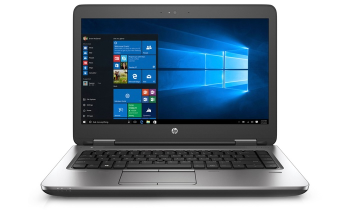 """HP ProBook 640 G1 14"""" Laptop with 128GB or 320GB SSD (Refurbished): HP ProBook 640 G1 14"""" Laptop with 2.6GHz Intel Core i5 Processor, 8GB RAM, and 128SSD or 320GB SATA HD (Refurbished)"""
