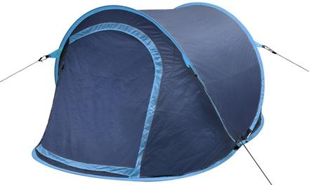 Faltbares Camping-Wurfzelt für 2 Personen in der Farbe nach Wahl