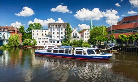Schifffahrt für 1 Person und Kaffee und Kuchen und HVV-Ticket mit der Bergedorfer Schifffahrtslinie  in Hamburg
