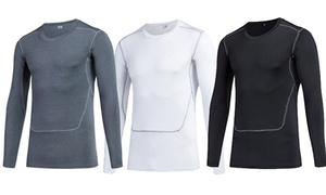 Men's Quick-Dry Long-Sleeve Compression Shirt