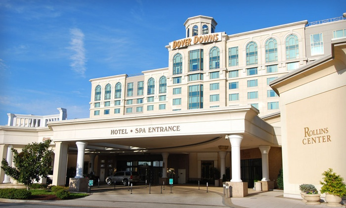 Dover Downs Hotel & Casino - Dover, DE: 1-Night Stay for Two with Dining and Casino Credits at Dover Downs Hotel & Casino in Dover, DE. Combine Up to 2 Nights.