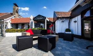 A-Mano: Viergangenkeuzemenu bij Brasserie A-Mano in Rumst, nabij Antwerpen