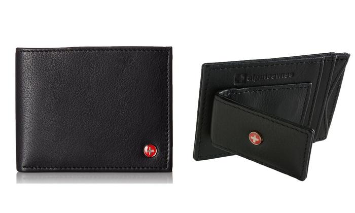 Alpine Swiss RFID-Blocking Wallets