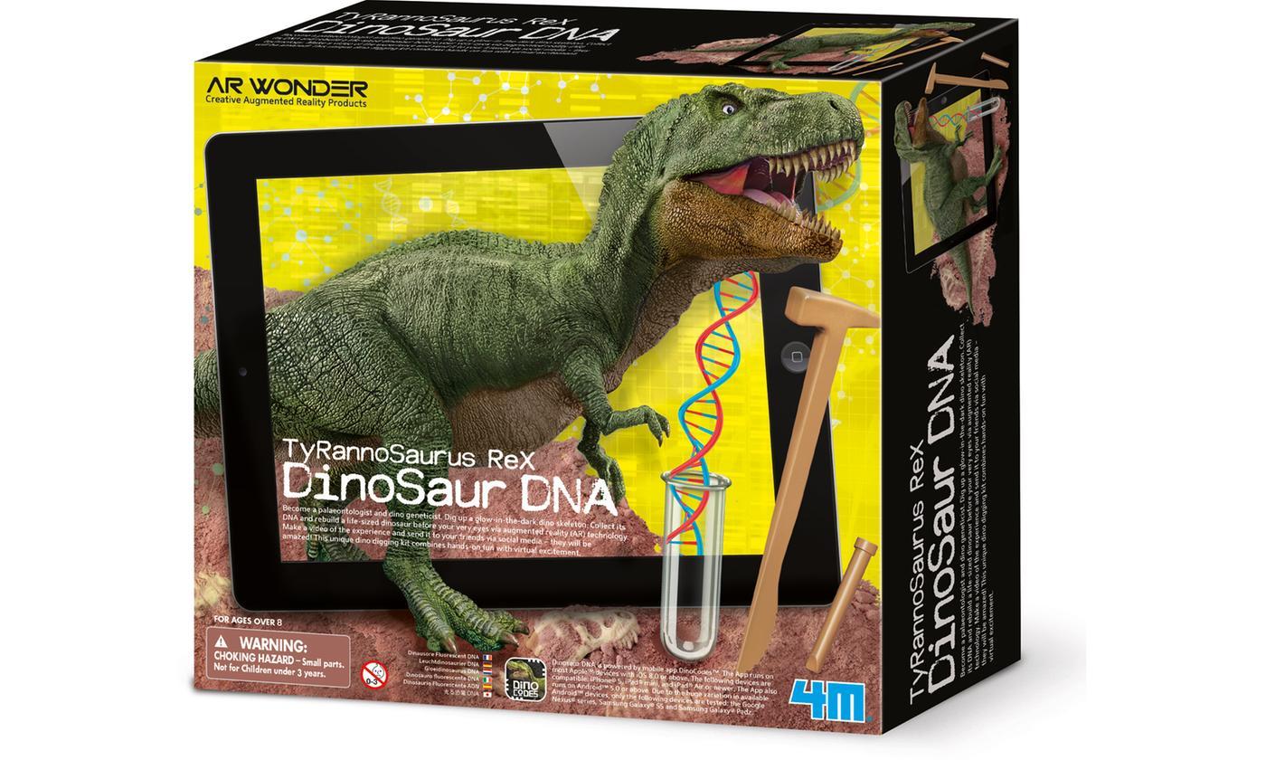 4M Tyrannosaurus T-Rex Dinosaur DNA Augmented Reality Set