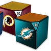 NFL Bluetooth Portable Sound Cube Speaker With Mic
