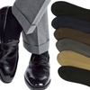 Men's Classic Solid-Color Dress Socks (12-Pack)
