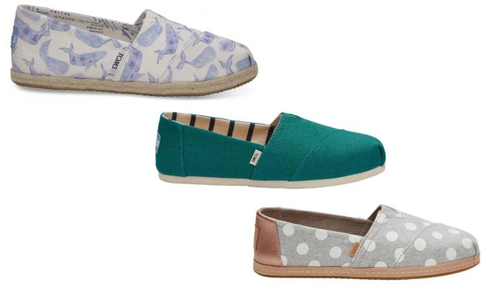new style fec7a fca35 Bis zu 4% Rabatt TOMS Drizzle Damen-Schuhe | Groupon