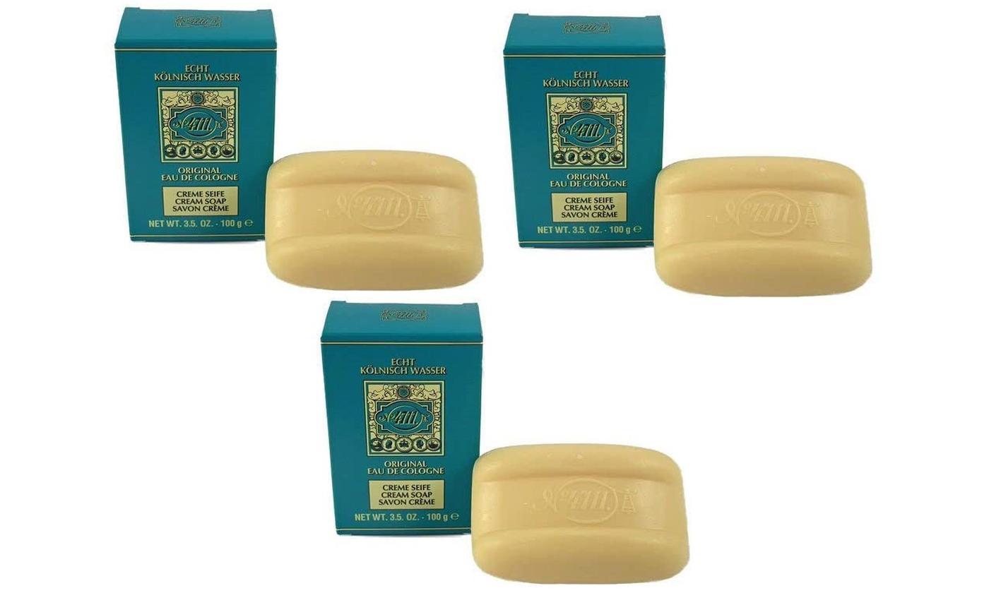Maurer & Wirtz Three-Pack of 100g Cream Soap Bars