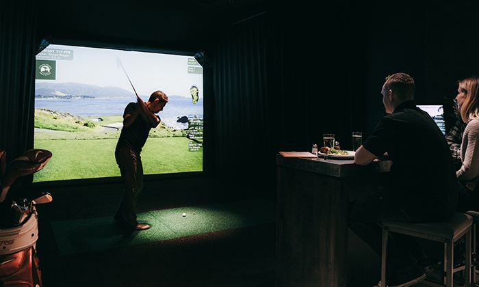 One Under Vancouver - Downtown Vancouver: Indoor Golf Simulator Rental at One Under