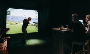 One Under Vancouver: Indoor Golf Simulator Rental at One Under