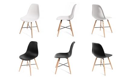 Lot de 2 ou 4 chaises scandinaves
