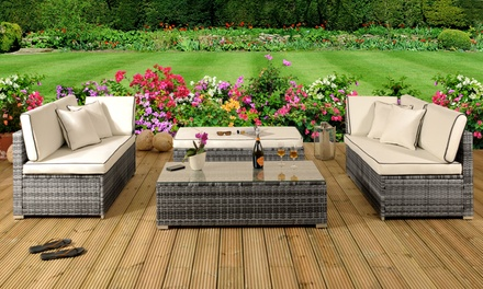 Tropea Four-Piece Rattan Day Sofa Set With Free Delivery