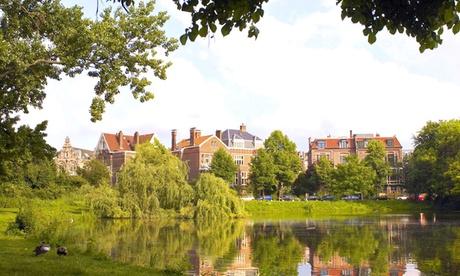 Descubra la naturaleza en Ámsterdam: habitación doble superior para 2 personas en el Park Plaza Vondelpark