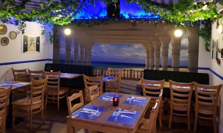 Two-Course Greek Meal for Two or Four at Zorba The Greek (Up to 50% Off)
