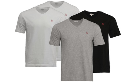 Two or Four U.S. Polo Assn. VNeck TShirts for Men