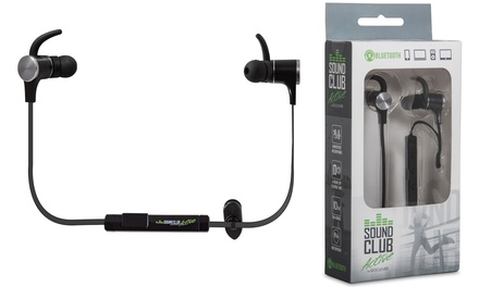 Auriculares inalámbricos con Bluetooth GoClever Sound Club Active