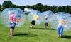 Clashball Köln - Mehrere Standorte: 60, 90 oder 120 Min. Bubble-Fußball inkl. Schiedsrichter für bis zu 30 Personen bei Clashball Köln (bis zu 40% sparen*)
