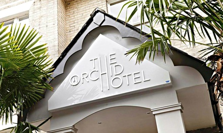 Bournemouth: 13 Nights for Two with Breakfast and Option for ThreeCourse Dinner and Prosecco at The Orchid Hotel