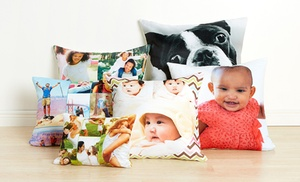 up to 82 off custom photo pillow from collage com groupon