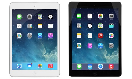 "Apple iPad Air 16GB, 32GB, or 64GB WiFi Tablet with 9.7"" (Refurbished) d4572532-5840-11e7-b034-002590604002"
