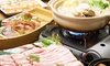 東京都/八王子 ≪選べる鍋・刺身3種など8品コース+飲み放題180分≫