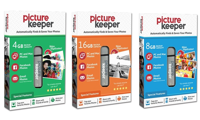 picture keeper photo storage usb device groupon