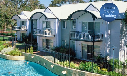 Mandurah: 2- or 3-Night Apartment Stay for Four People with Wine and Late Check-Out at Mandurah Quay Resort