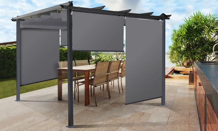 stores universels pour pergola groupon shopping. Black Bedroom Furniture Sets. Home Design Ideas