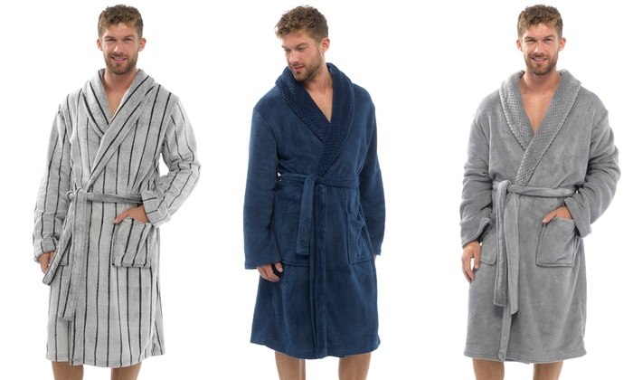 Men\'s Fleece Dressing Gowns | Groupon Goods